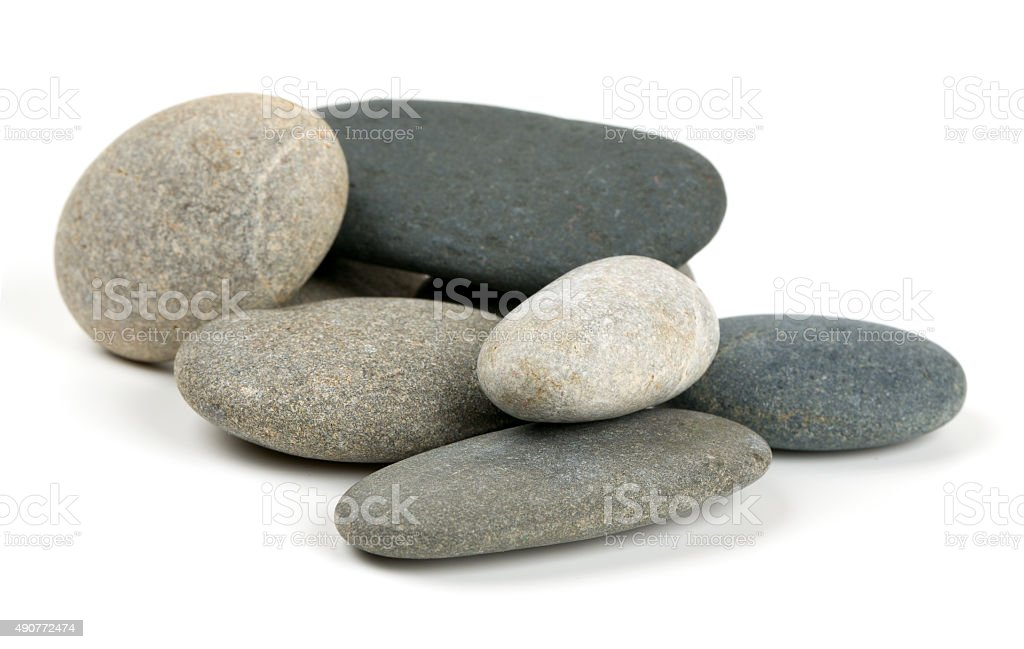 pebbles stock photo