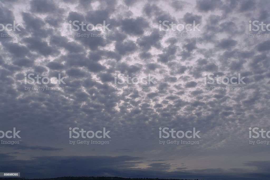 Pebbly небо на закате [ фоне ] Стоковые фото Стоковая фотография