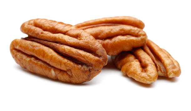 Pecan Nuts stock photo