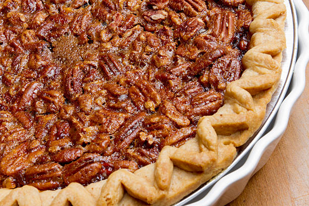Pecan Pie stock photo