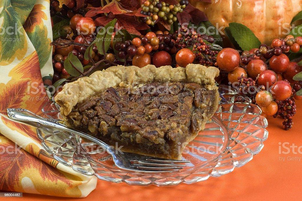 Pecan Pie royalty-free stock photo