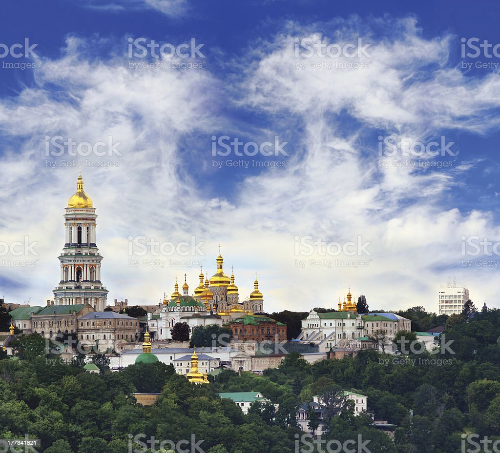 Pechersk Lavra stock photo
