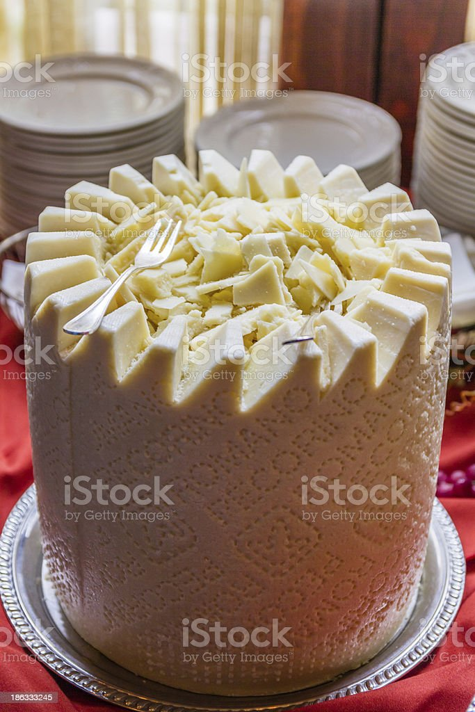 Pecorino Grande stock photo