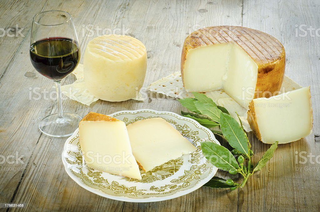 Pecorino Sardo stock photo