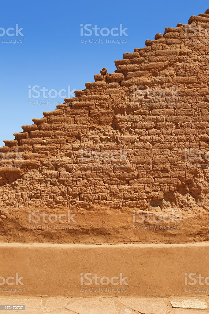 Pecos National Monument stock photo