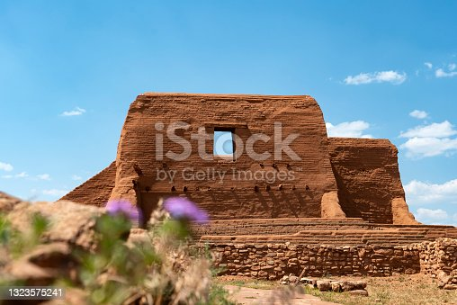istock Pecos National Park Spanish Church Ruins 1323575241