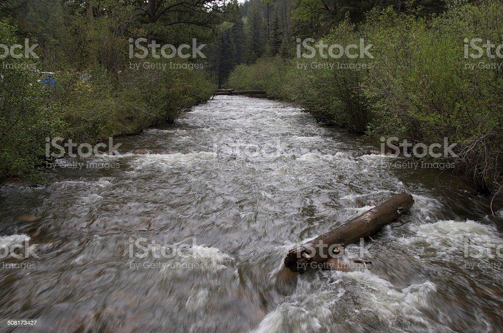 pecos river stock photo