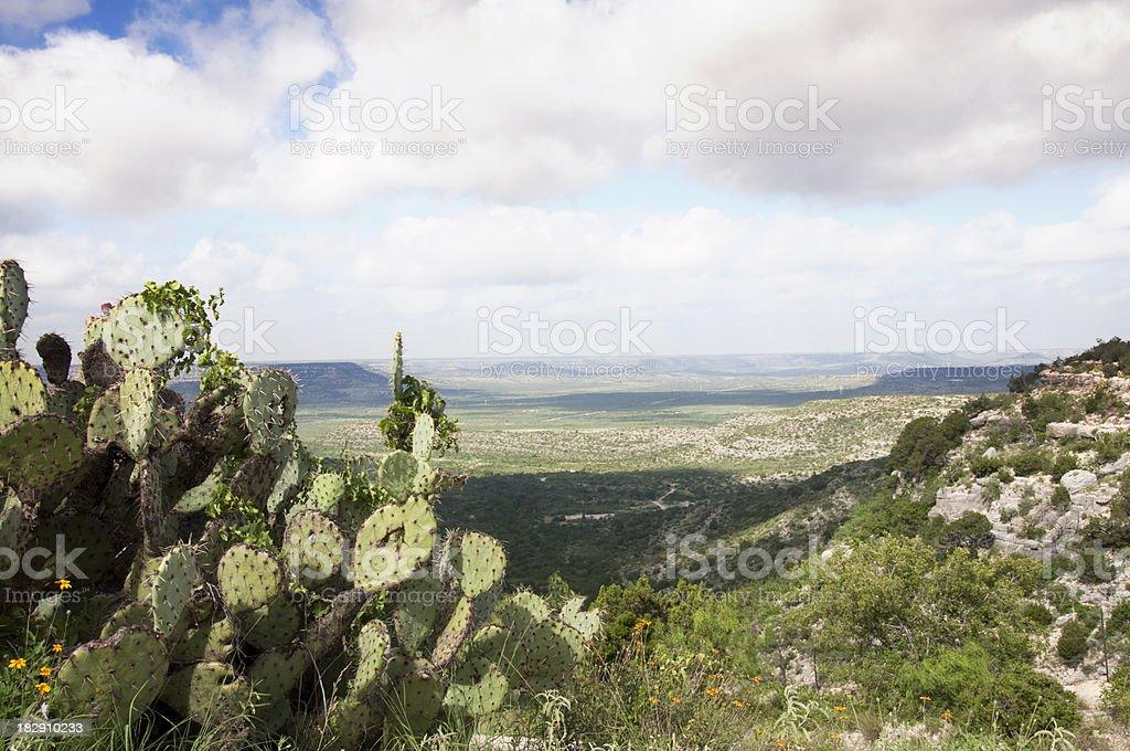 Pecos River Valley Texas stock photo
