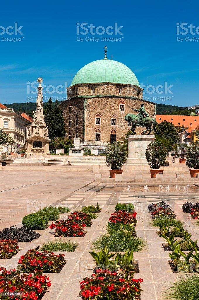 Pecs-Hungary stock photo