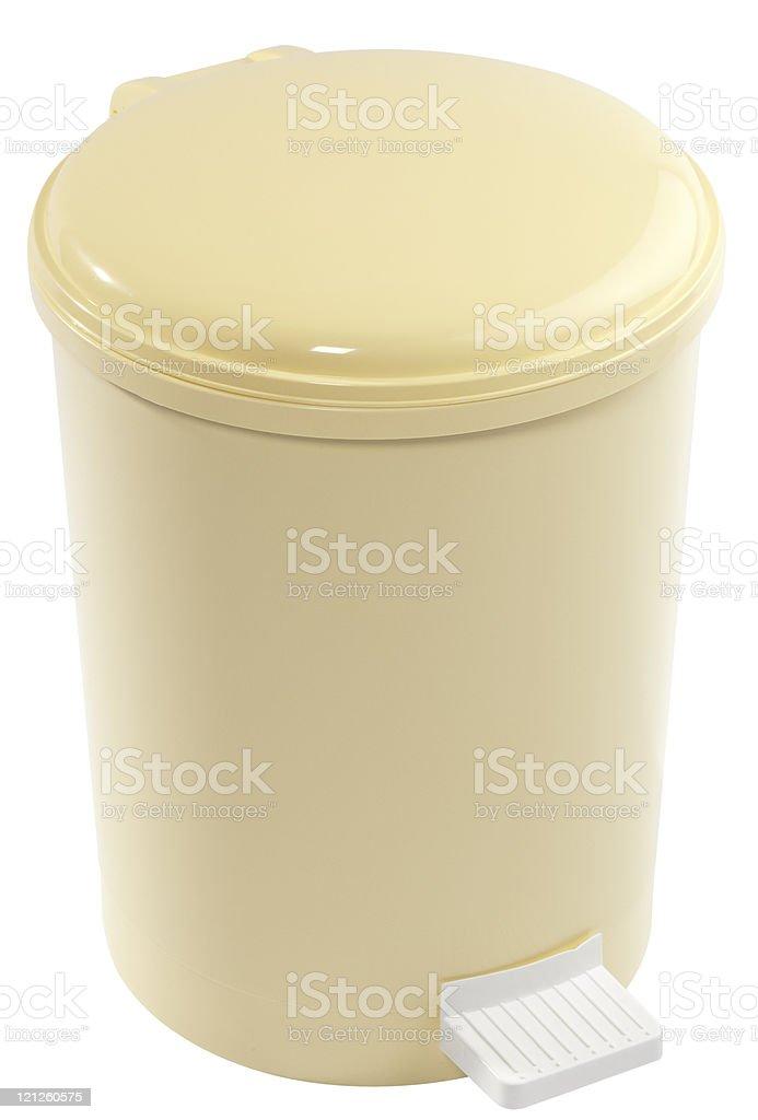 pedal bin stock photo