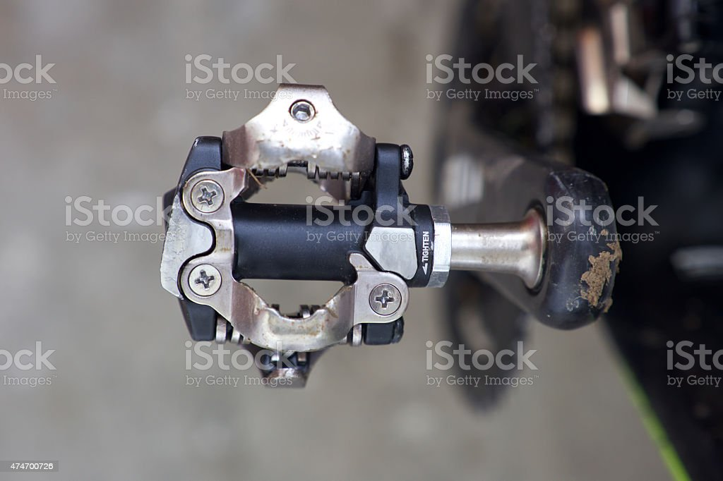 SPD pedal. stock photo