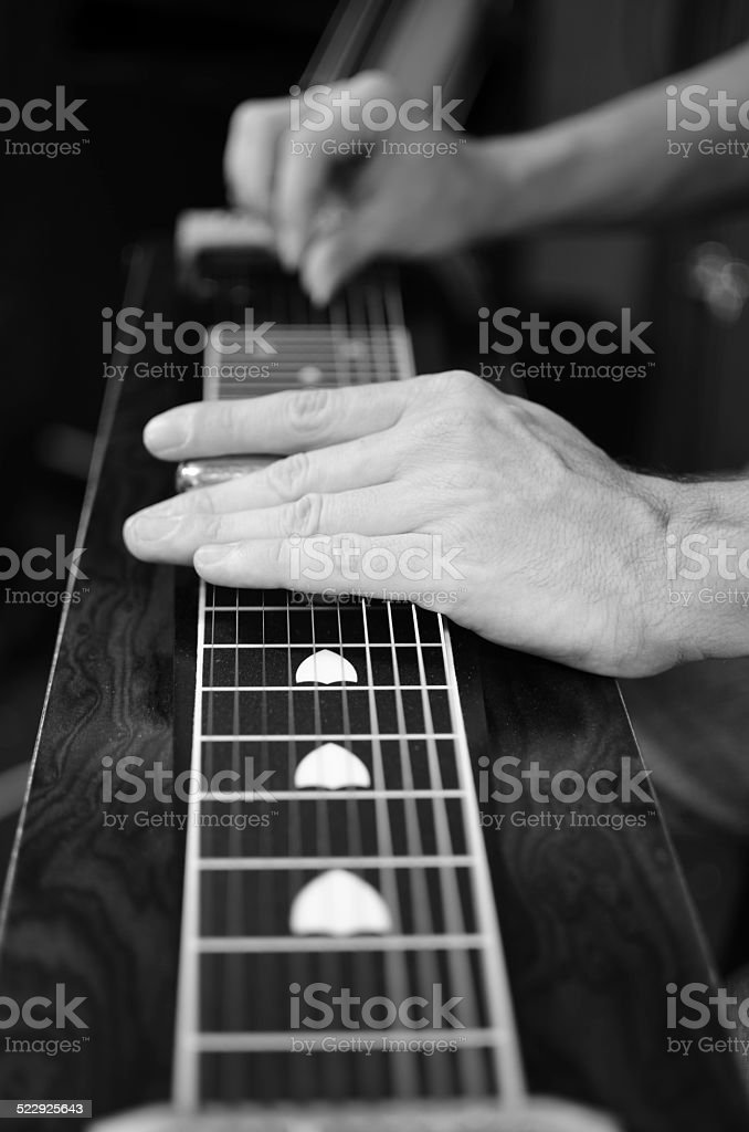 Pedal steel stock photo