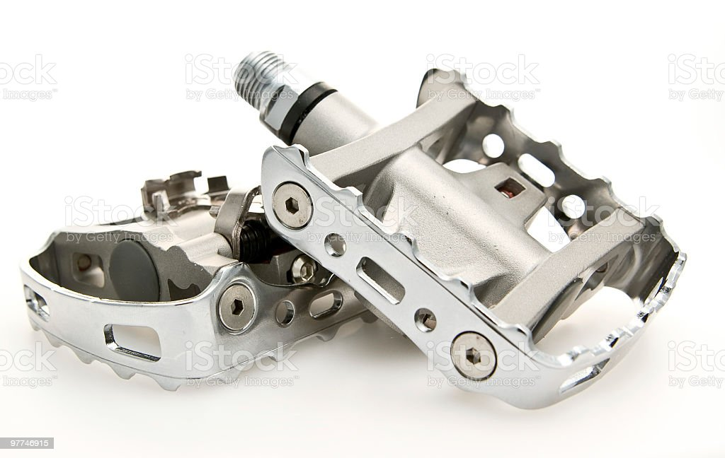 Pedals royalty-free stock photo