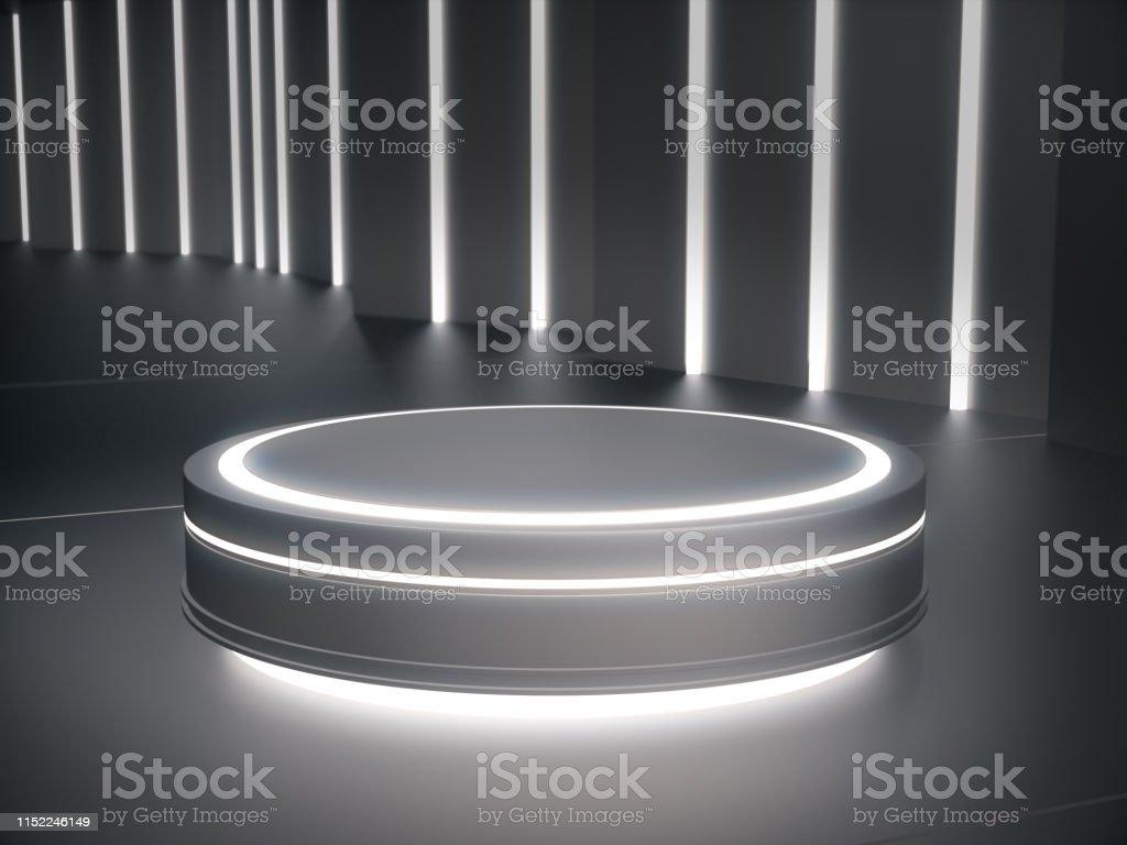 Pedestal For Displayplatform For Designblank Product Stand
