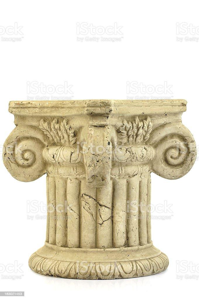 Pedestal royalty-free stock photo