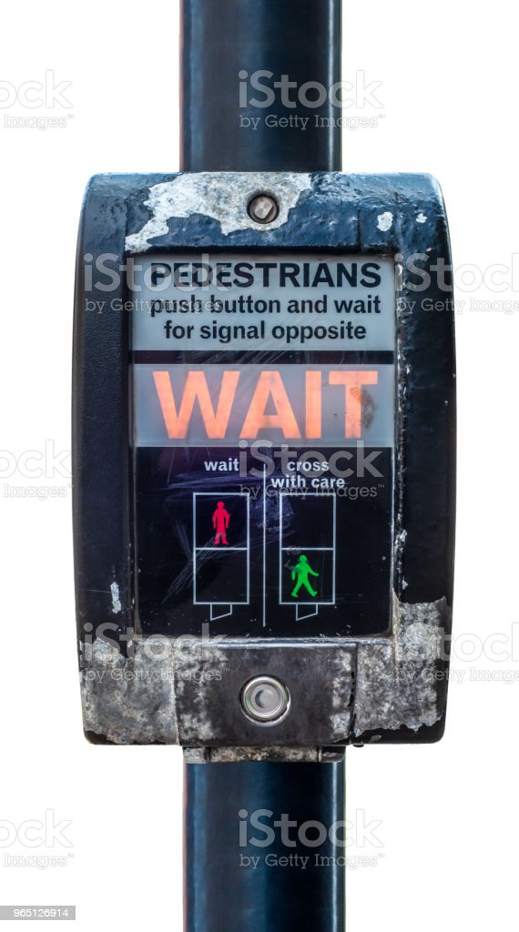 UK Pedestrian Crossing royalty-free stock photo