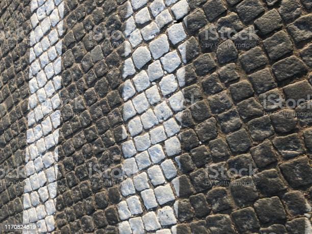 Pedestrian crosswalk on paving stone picture id1170824819?b=1&k=6&m=1170824819&s=612x612&h=cthsp 7utasqrx1szugsg2ldgedgmh4cn4goceicngy=