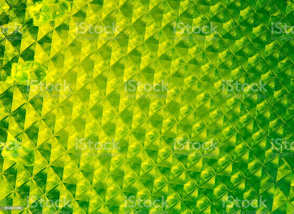 Pedestrian reflector texture stock photo