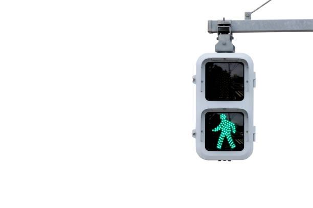 歩行者用信号 ストックフォト