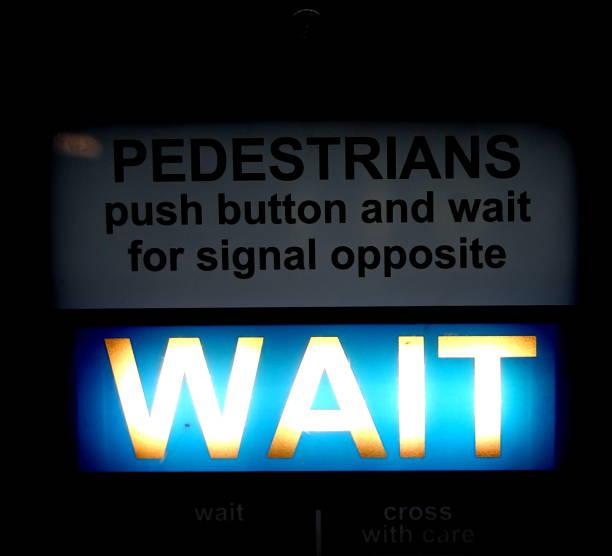 Fußgängerzone Stop – Foto