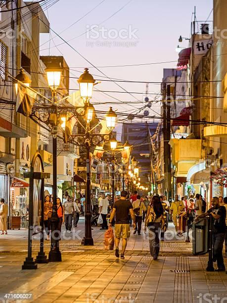 Dominikanska republika Pedestrian-street-santo-domingo-dominican-republic-picture-id471606027?s=612x612