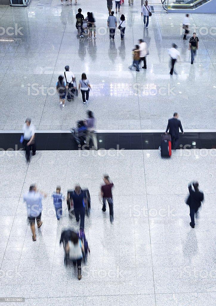 Pedestrian Traffic royalty-free stock photo