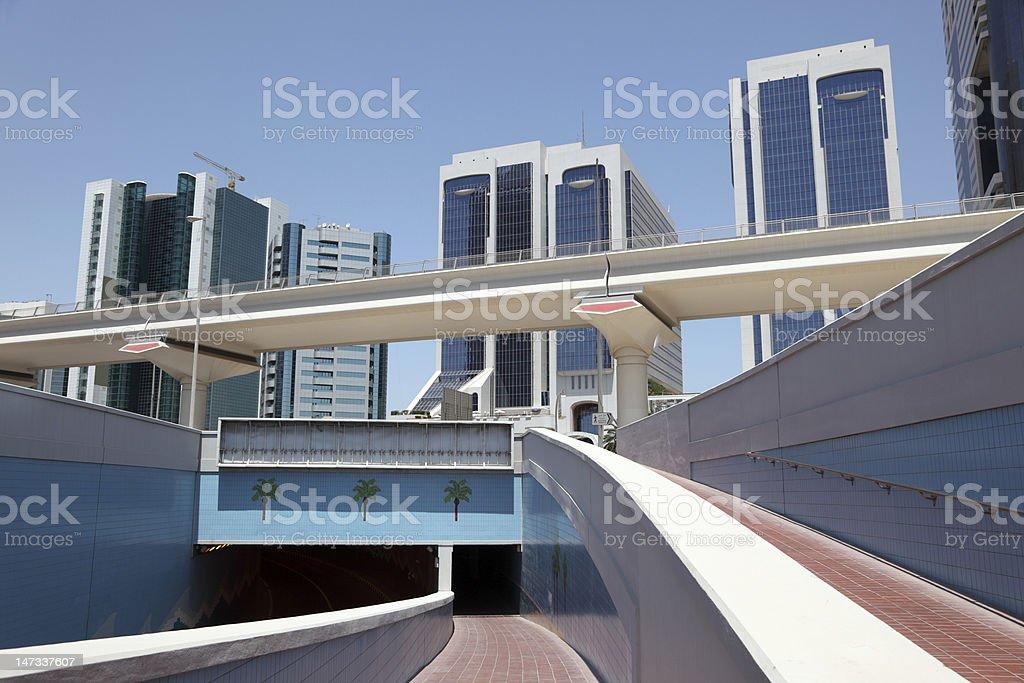 Pedestrian Underpass, Dubai royalty-free stock photo