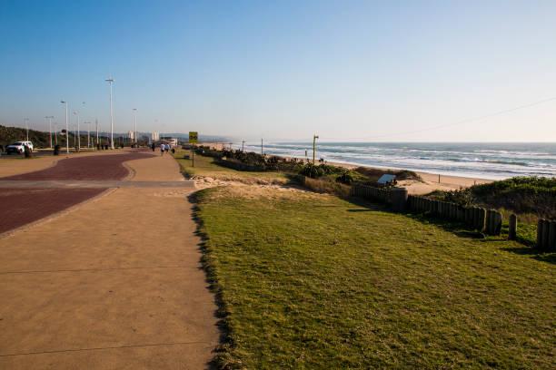 Fußgängerweg am Durban Beachfront – Foto