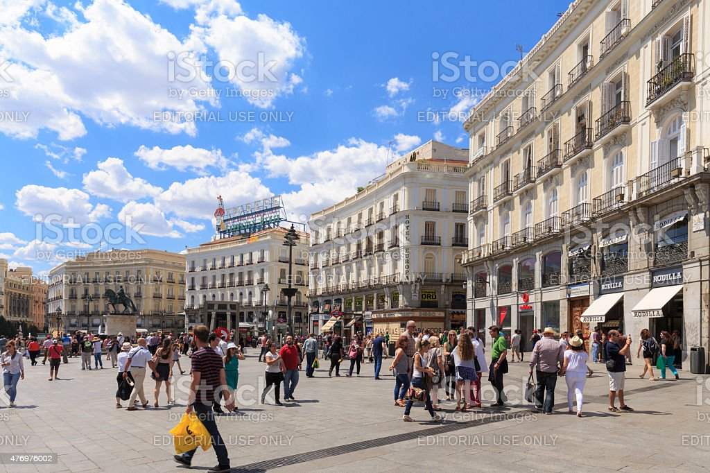 2015 istock for Km o madrid puerta del sol