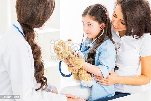 istock Pediatrician and family 683343158