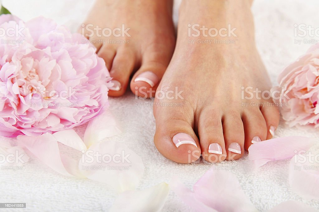 Pedicure stock photo