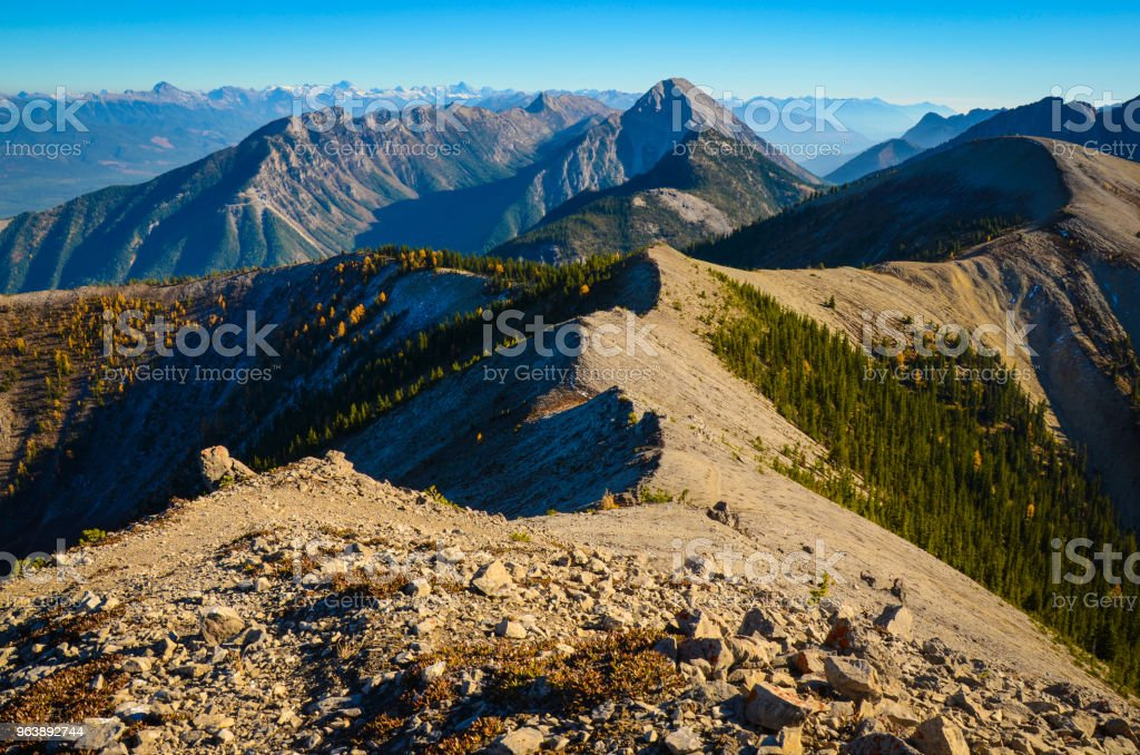 Pedley Pass Ridge Line Landscape in Fall - Royalty-free Autumn Stock Photo
