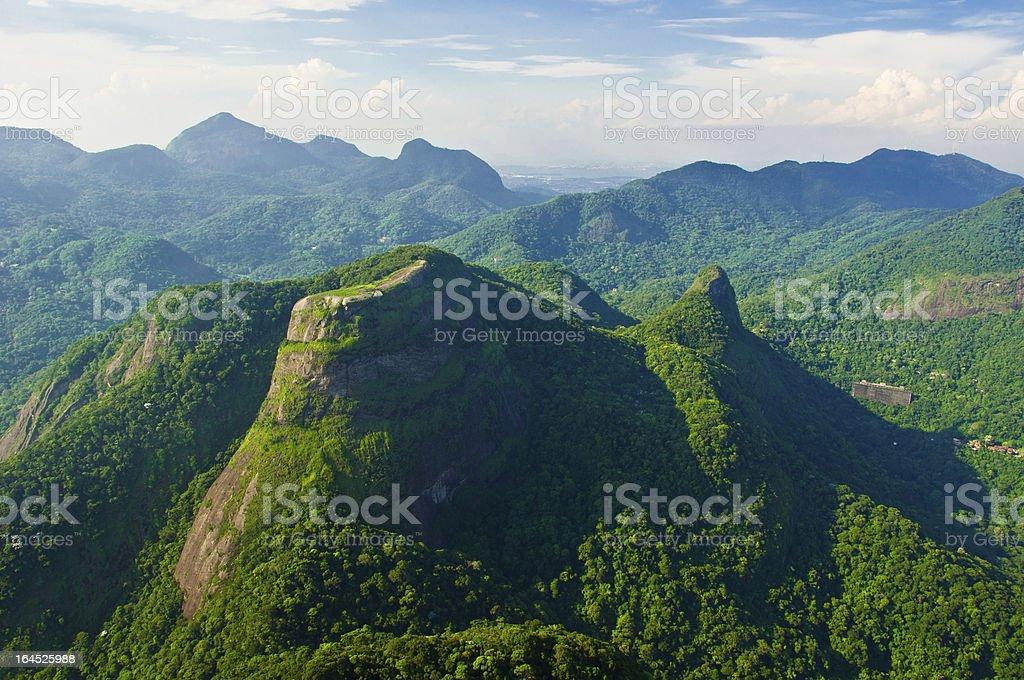 Pedra Bonita Mountain stock photo