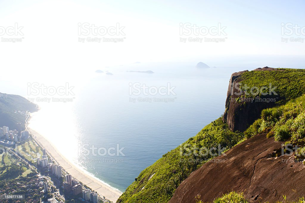 Pedra da Gavea stock photo