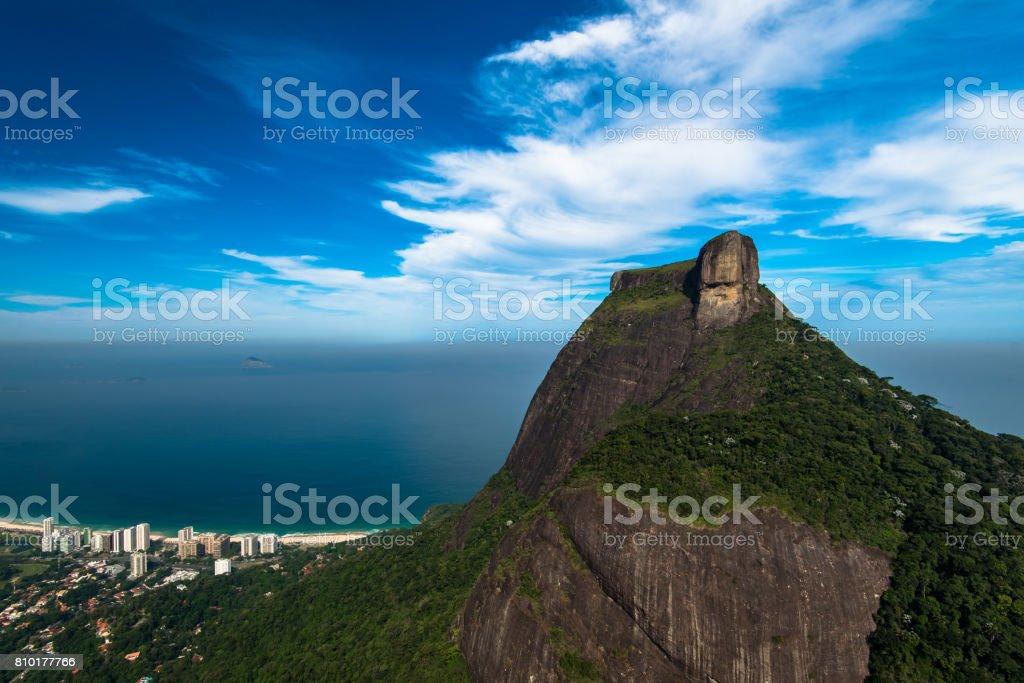 Pedra da Gavea Rock stock photo