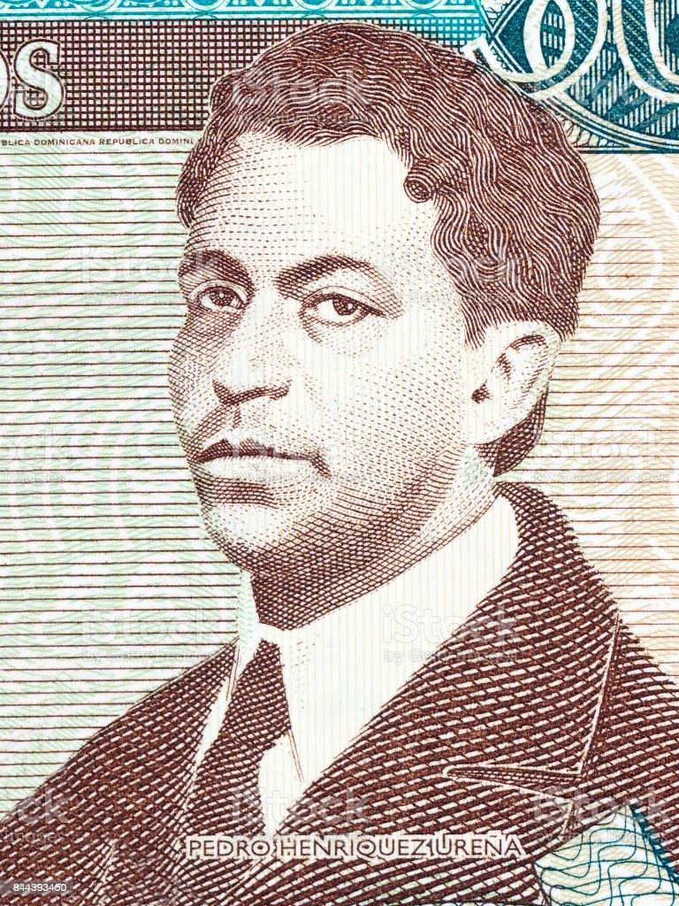 Pedro Henriquez Urena portrait stock photo