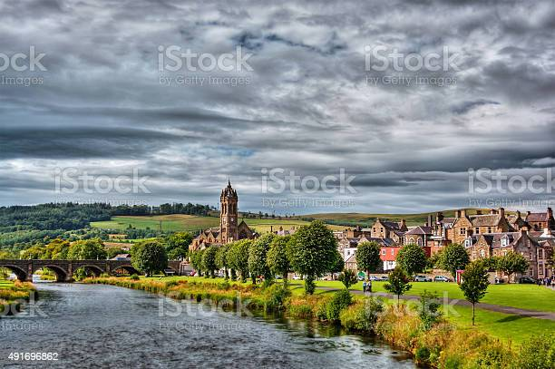 Peebles Hdr Stock Photo - Download Image Now