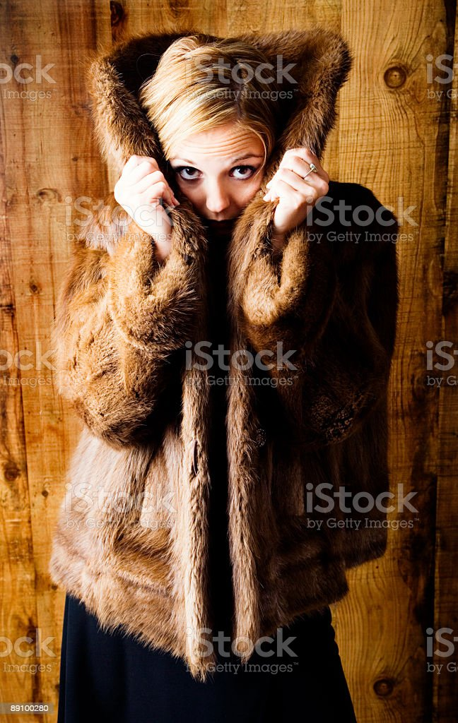 Peek-a-Boo royalty-free stock photo