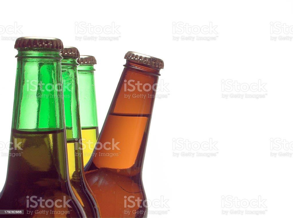 Peeking Beer stock photo