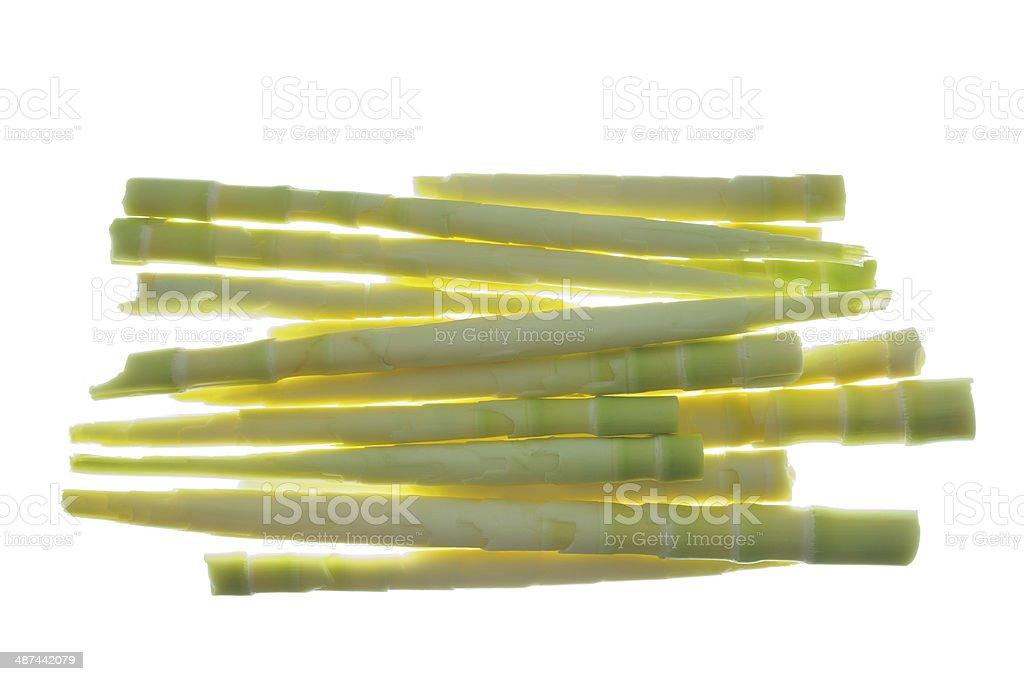 Sbucciato Germoglio Di Bambù Per Cucina - Fotografie stock e ...