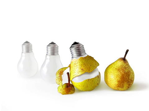 Peeled Bulb Stock Photo - Download Image Now
