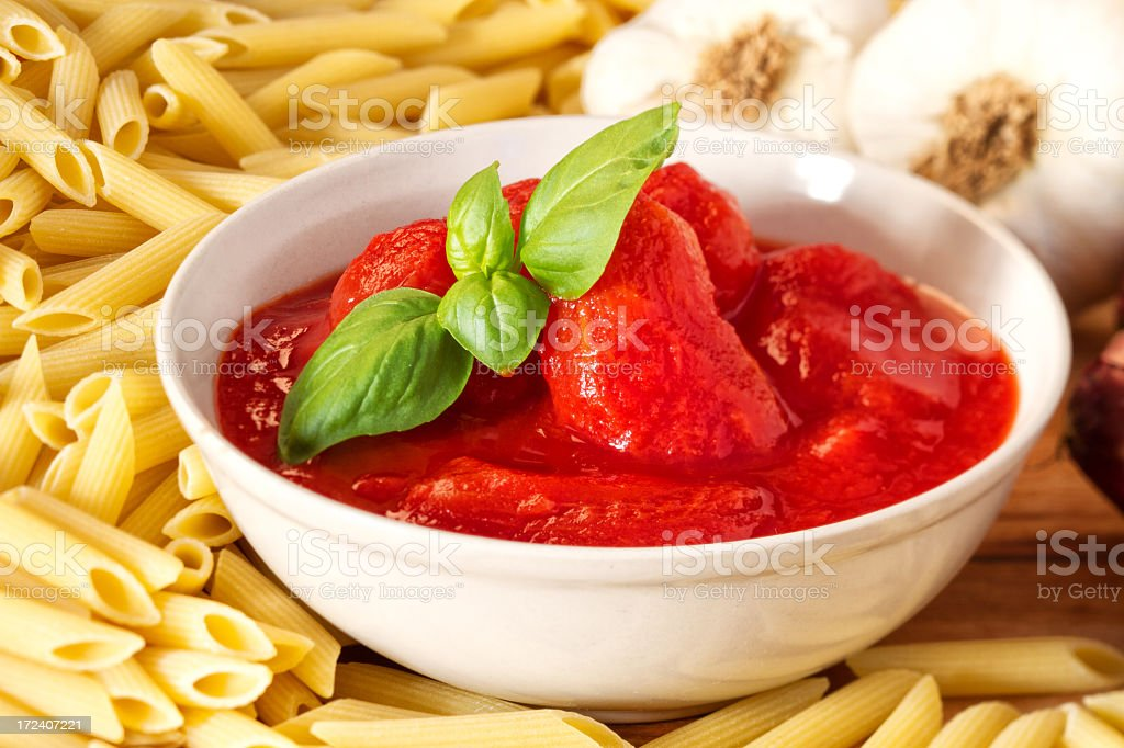Peeled tomatoes on a plate royalty-free stock photo