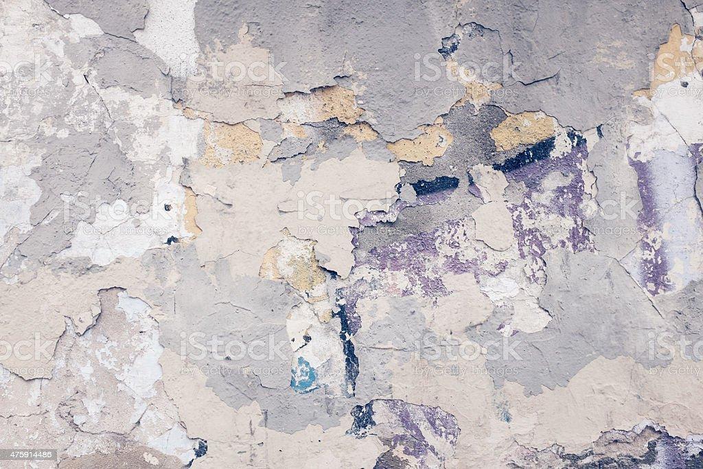 Peinture écaillée Vieux Plâtre Mur. Photo Libre De Droits