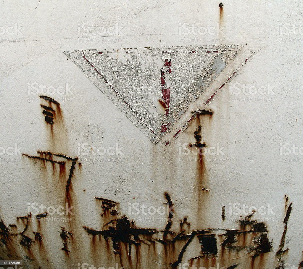 Peeling paint 18 royalty-free stock photo