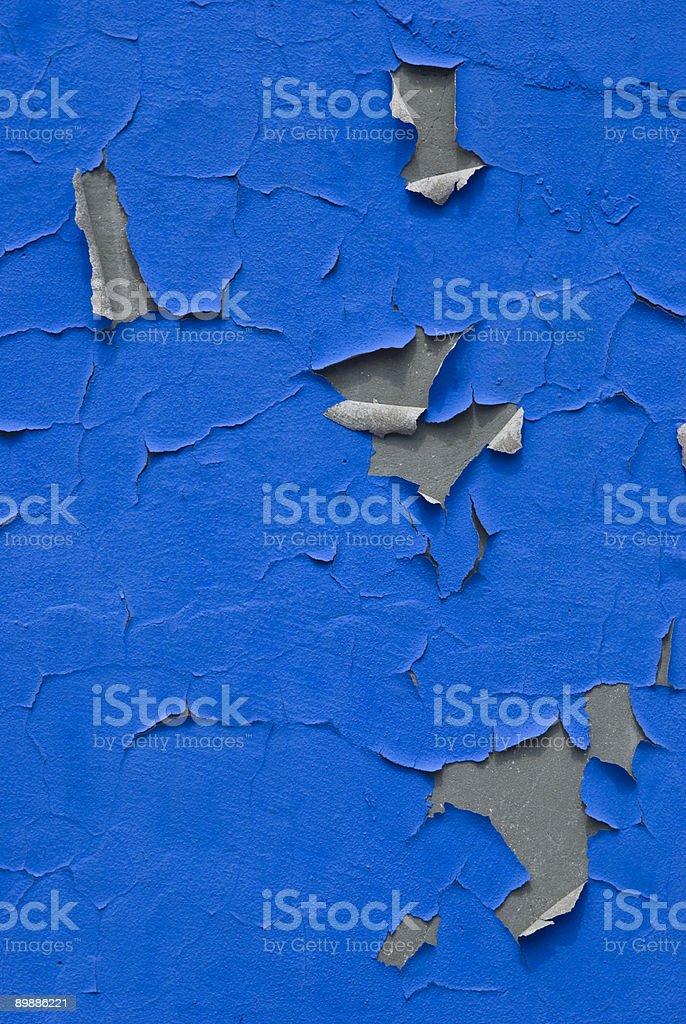 Peeling Paint Abstract royalty-free stock photo