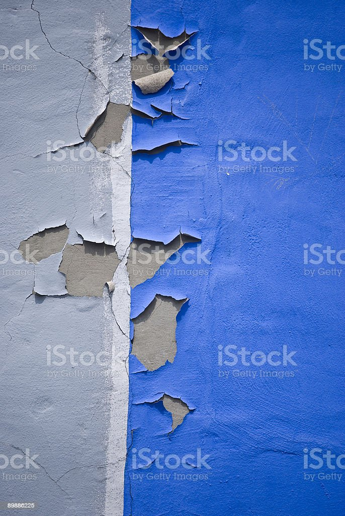 Peeling Paint Abstract royalty-free stock photo