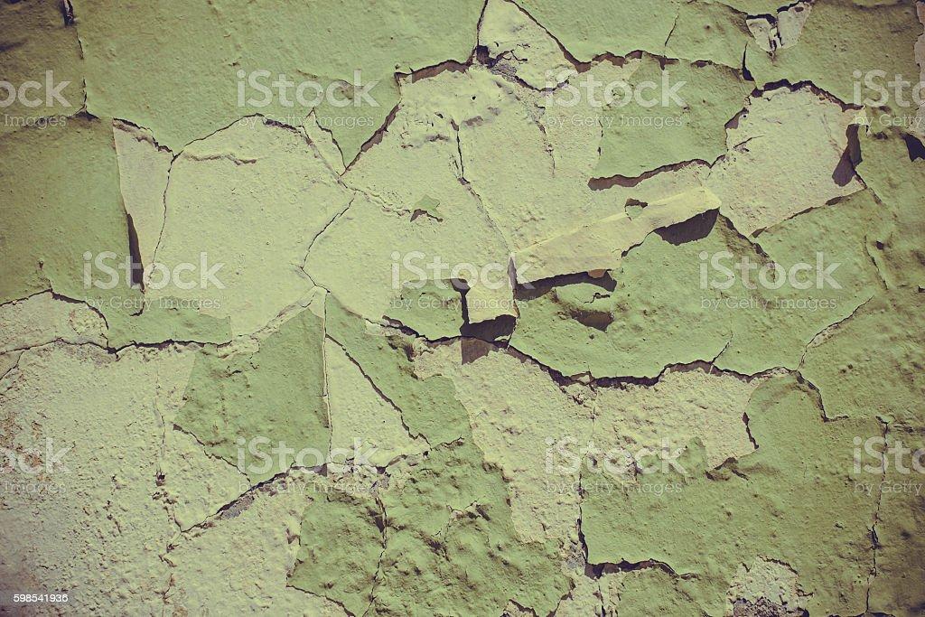 Peinture sur un mur de plâtre. photo libre de droits