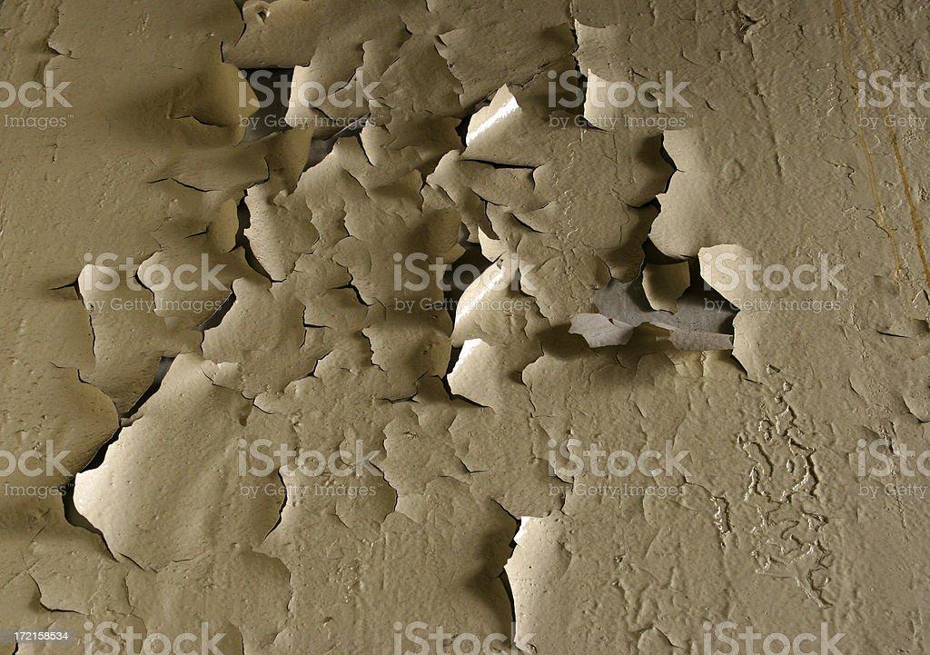 peeling paint stock photo