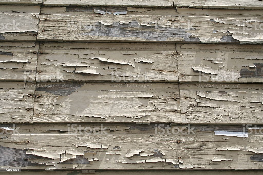 Peeling Paint royalty-free stock photo