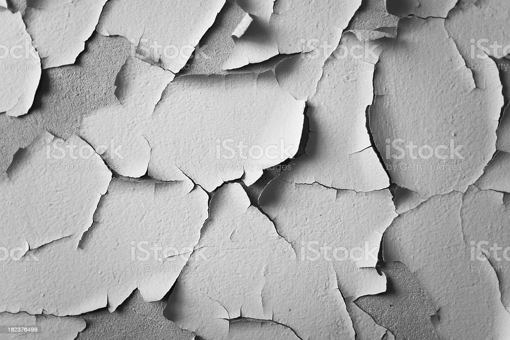 Peeling paint. stock photo